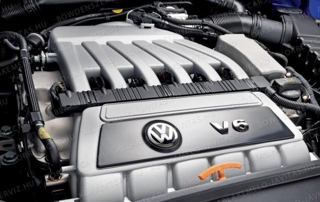 VW V6 Motorblokk